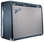 A 1965 Fender Twin Reverb amp.