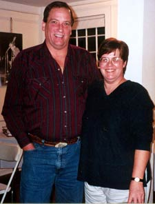 Charlie Wilhelm and Cynthia Edwards, Jon Tuttle's sister.
