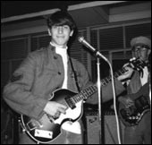 Me, with my 1966 Hofner Beatle bass, on September 5, 1967.
