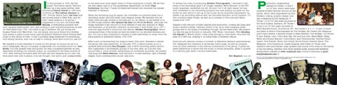 Garrison Anthology CD booklet graphics.