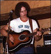 Me, performing with my Ovation Balladeer 12-string, in 1977.