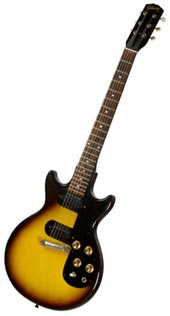 60s Gibson Melody Maker like the one I first played in 1966.