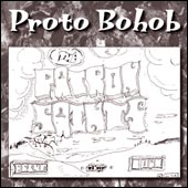 The Patron Saints' Proto Bohob CD cover.