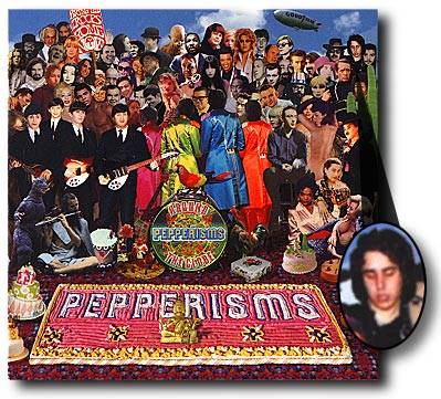 Pepperisms LP cover.