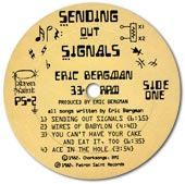 Sending Out Signals LP label.