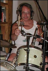 Patron Saint original member and drummer Jeff Alfaro.