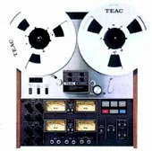 Two of these Teac A-3340S four-channel tape decks were used to record Modern Phonography.